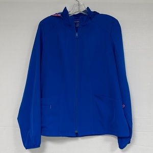 Heartsoul Womens Blue Lightweight Medical Jacket M